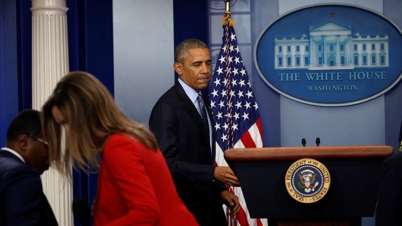 VERBATIM: Obama praises press freedoms