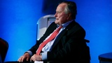 George H.W. Bush moved to intensive care; wife also hospitalized