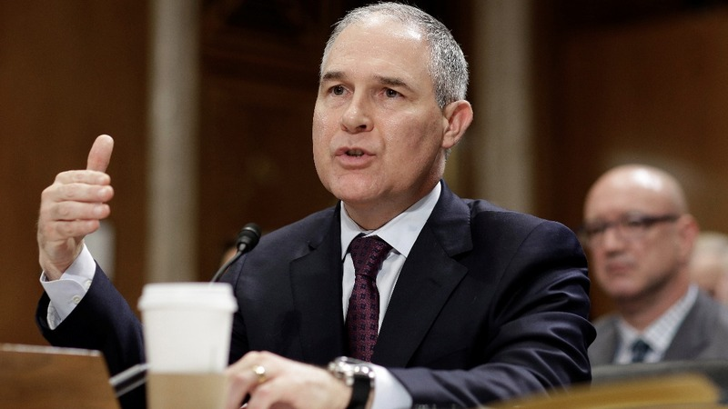 Trump's EPA pick grilled on energy ties and climate skepticism