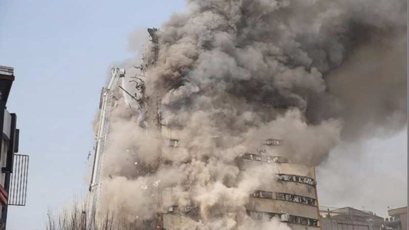 At least 20 dead in Iran building collapse