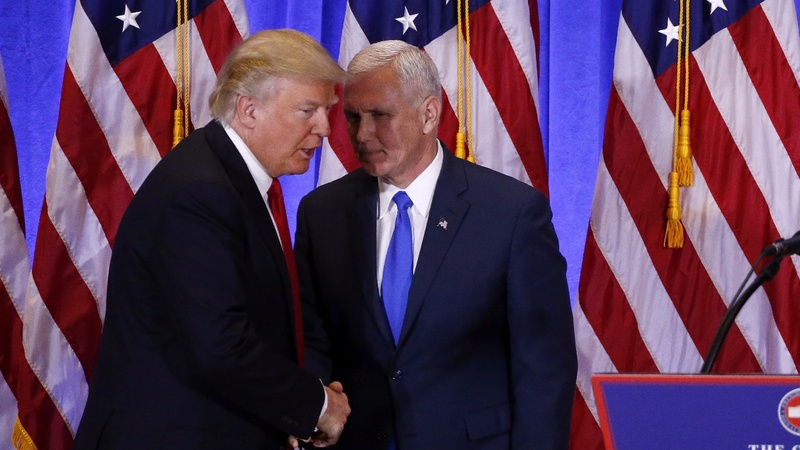 "Pence prepares to be Trump's ""tip of the spear"""