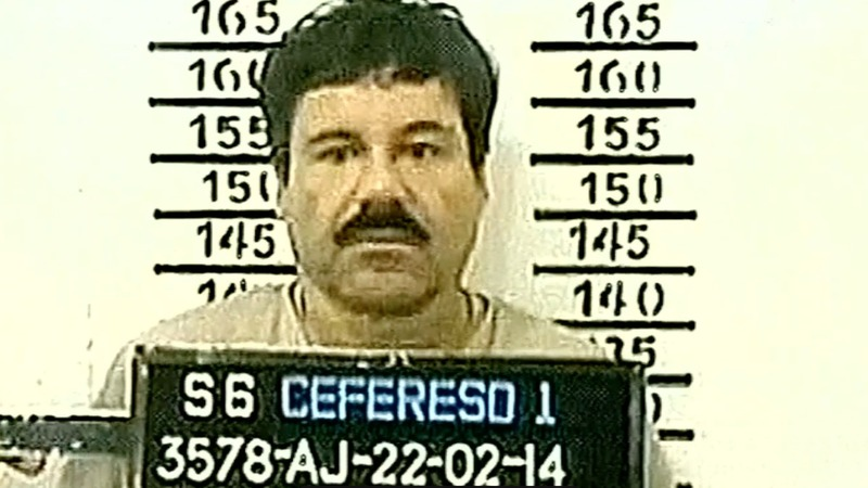"Mexican drug kingpin ""El Chapo"" extradited to the U.S."