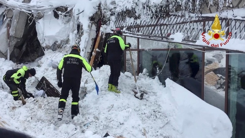 Survivors found in Italy hotel avalanche