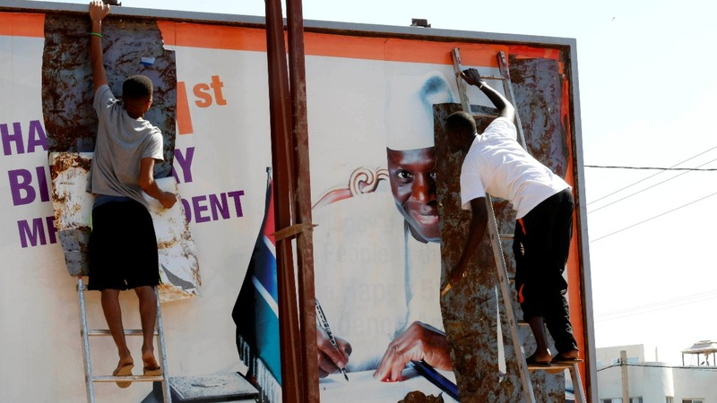 Streets empty as Gambia awaits resolution of crisis