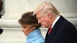 INSIGHT: Trump greets crowd at inaugural parade