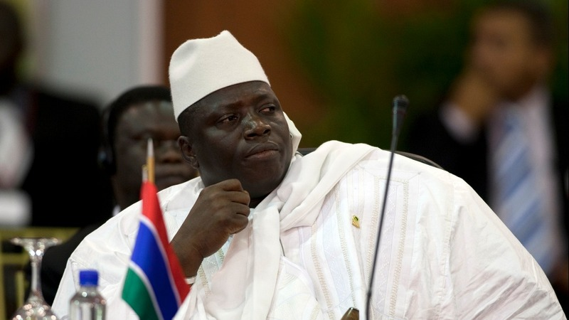 Gambia's Jammeh announces he is leaving post