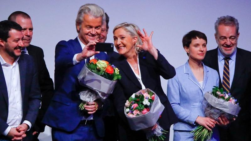 Far right leaders meet in Germany