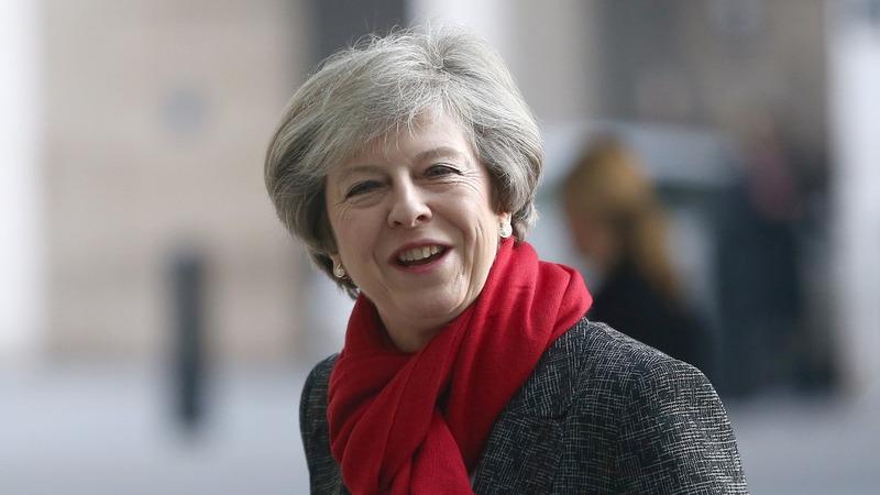 UK's May 'won't be afraid' to challenge Trump