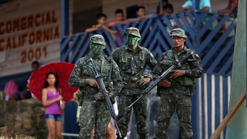 Brazil stepping up battle against drug trade
