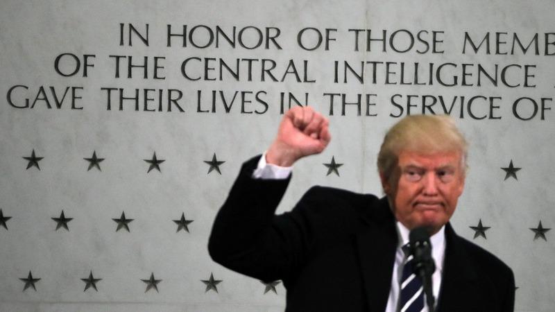 Ex-CIA chief slams Trump's 'despicable self-aggrandizement'