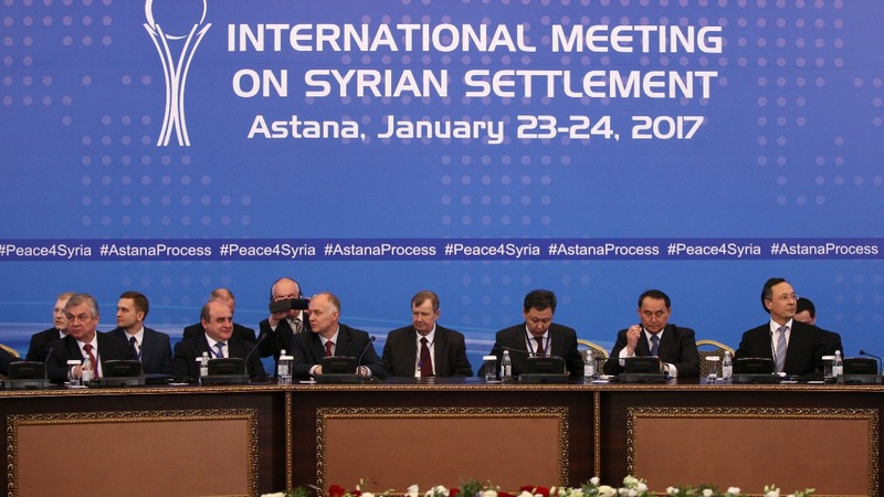 Syrian talks open in Astana but hopes are low