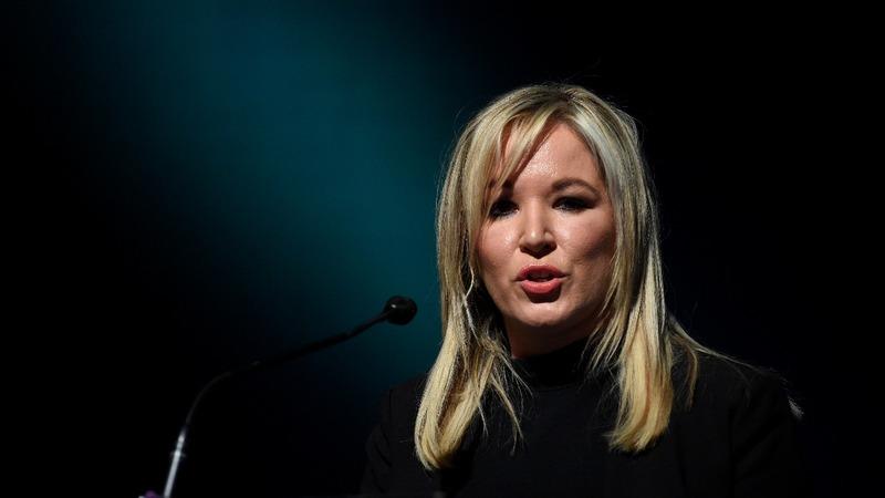 Sinn Fein names new leader ahead of N. Ireland elections