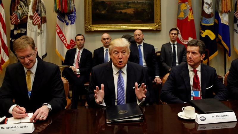 VERBATIM: Trump wants  US regs cut '75% or more'