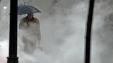 Pounding rains and high winds head up the U.S. East Coast
