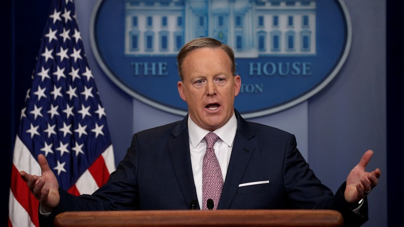 'It's demoralizing': Spicer pushes back against 'negative' coverage