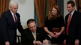 Mike Pompeo sworn in as new CIA director