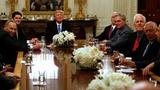 President Trump again claims voter fraud in popular vote