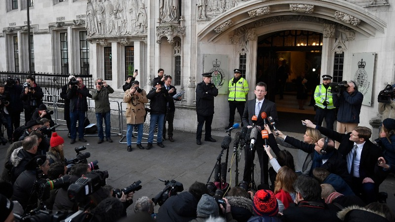 UK PM denied right to trigger Brexit