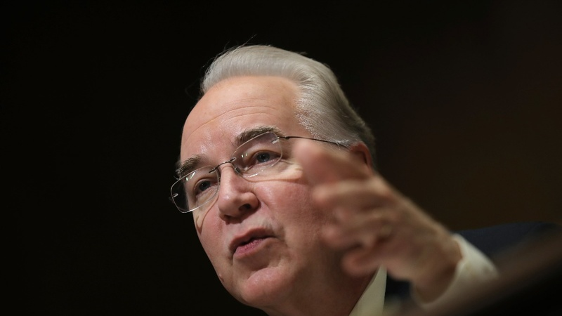 Price faces new hurdles  in bid to head HHS