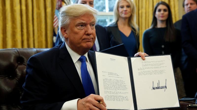 Trump resurrects Keystone, Dakota Access pipelines