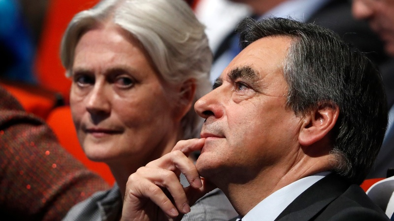 France's Fillon faces turmoil over wife's job