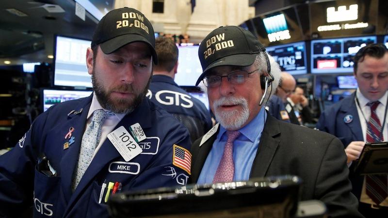 Dow sets historic close above 20,000