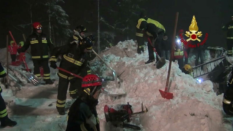 Last bodies pulled from Italian avalanche