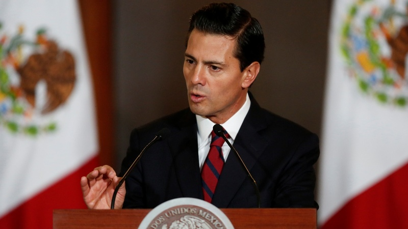 Mexican president cancels U.S. visit after Trump wall comments