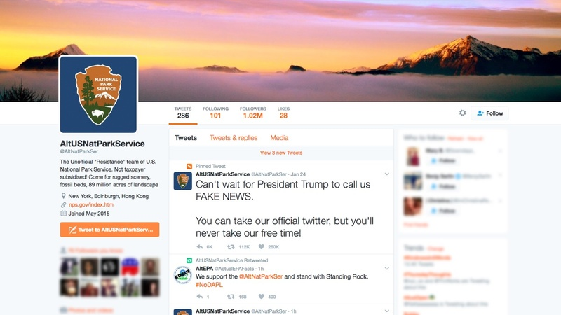 'Rogue' U.S. govt. Twitter feed moves to protect itself