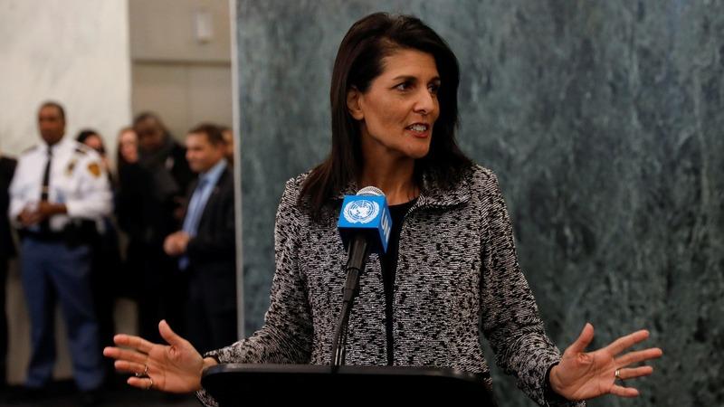 VERBATIM: I'm here to fix the U.N.