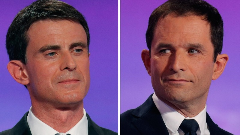 French Socialists in presidential primary