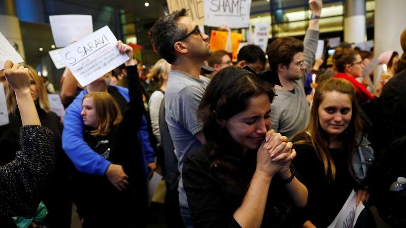 Federal judge temporarily halts Trump's immigration crackdown
