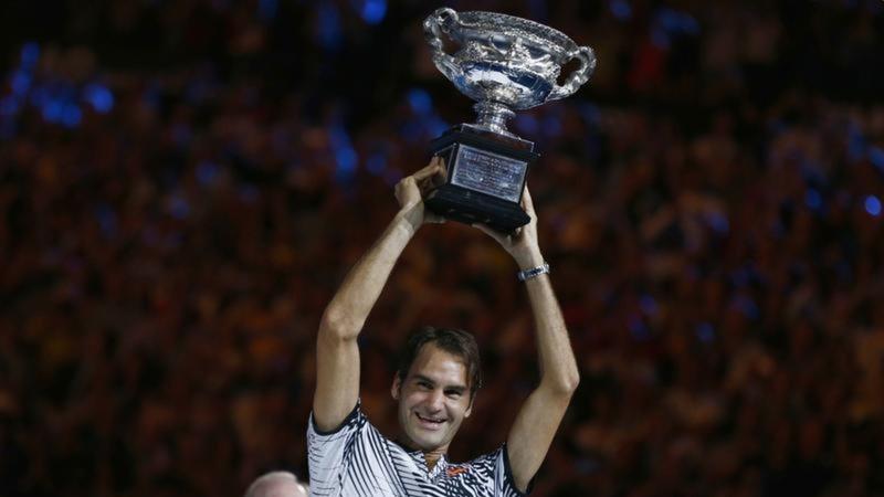 Roger Federer wins Australian Open
