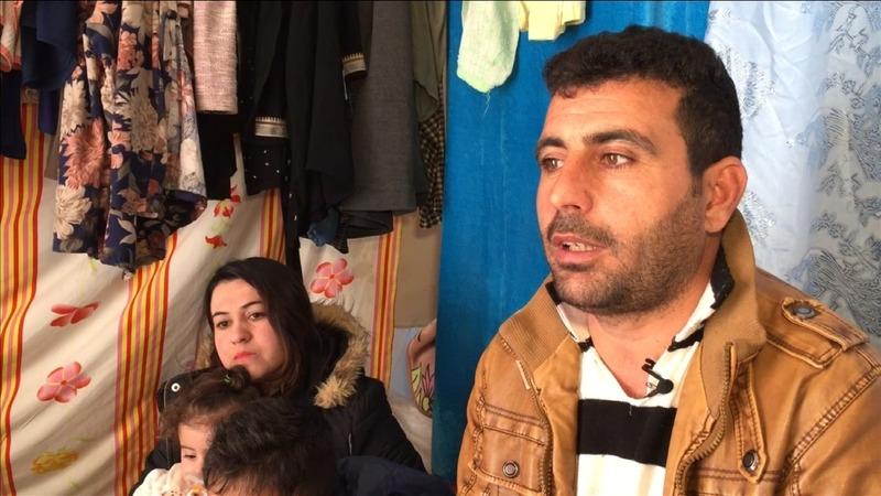 Iraqi families hit by U.S. travel ban