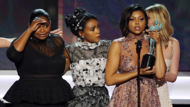 """Hidden Figures"" wins big at a political SAG Awards"