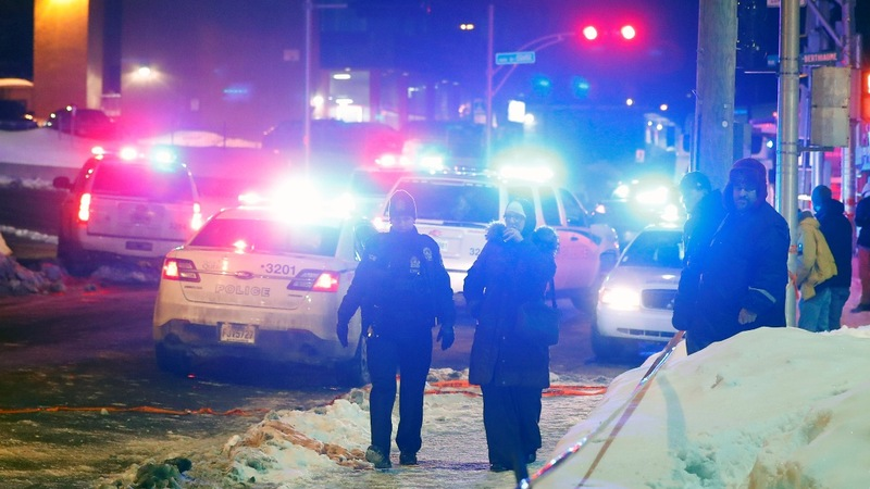 Canada's PM says mosque shooting a 'terrorist attack'