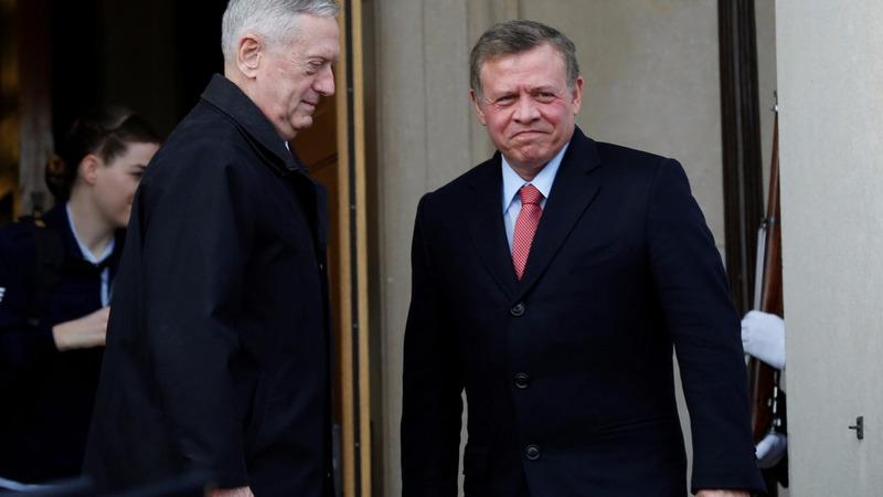 Jordan's king seeks Trump's help vs. ISIS