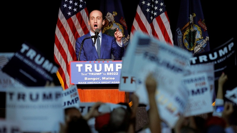 Miller emerges as architect on Trump's divisive refugee order