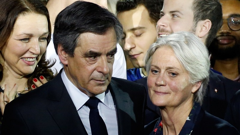 French police question Fillon over wife's pay