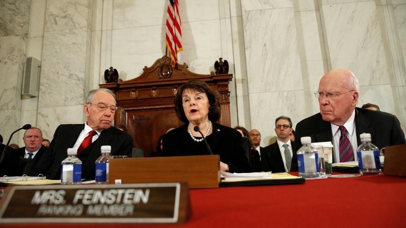 VERBATIM: Feinstein praises Yates, slams Sessions
