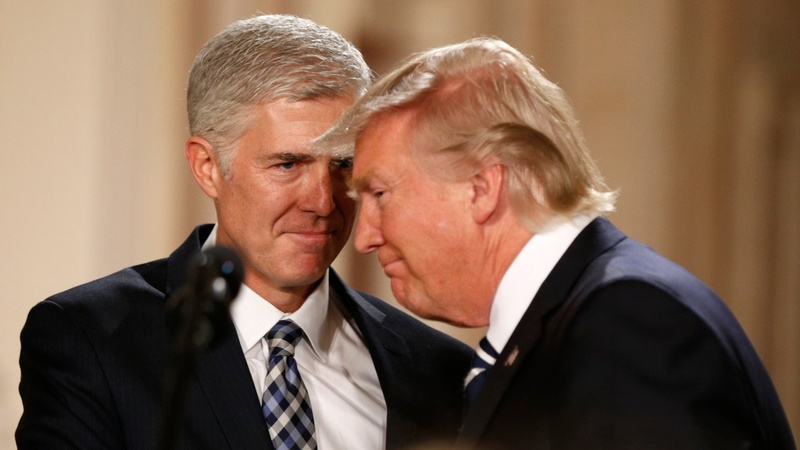 VERBATIM:  Trump picks Gorsuch for Supreme Court