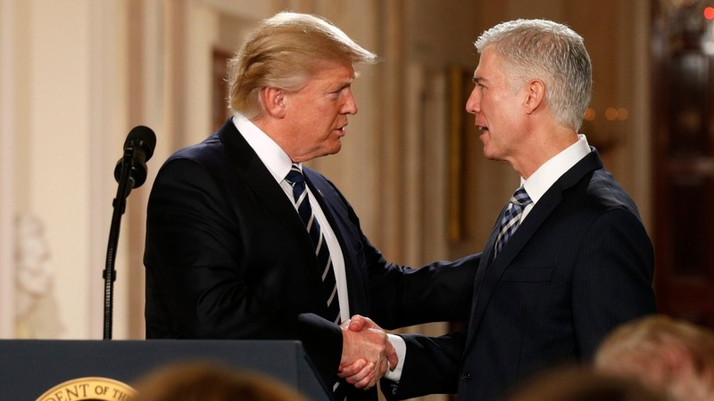 Trump finds shades of Scalia in SCOTUS pick Gorsuch