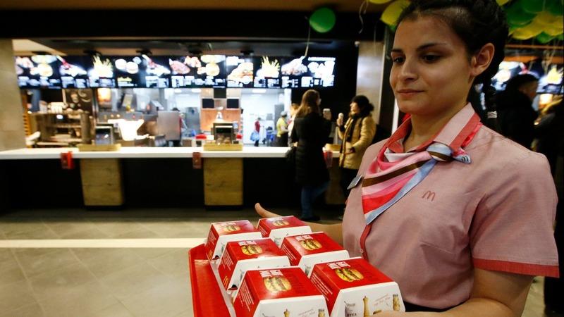 McDonald's - the 'Russian' restaurant