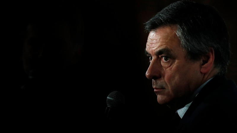 Scandal-hit Fillon eclipsed by Macron, Le Pen