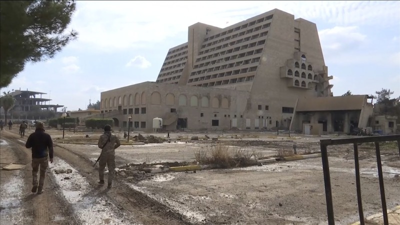 Inside the luxury Mosul hotel that housed ISIS elite