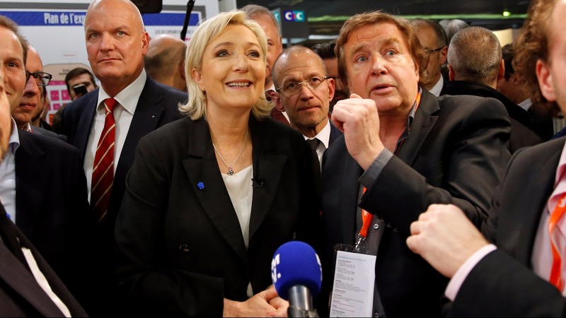 French reporter kicked out of Le Pen campaign event