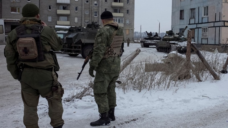 Russia blames Ukraine as fighting intensifies