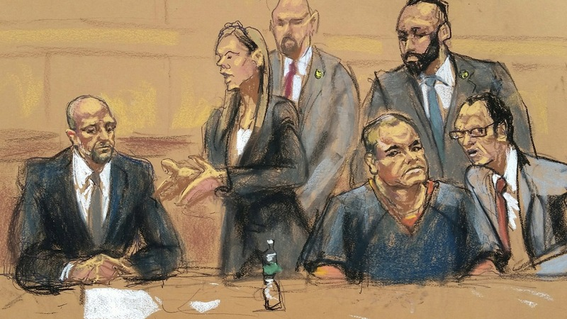 'El Chapo' appears in New York court