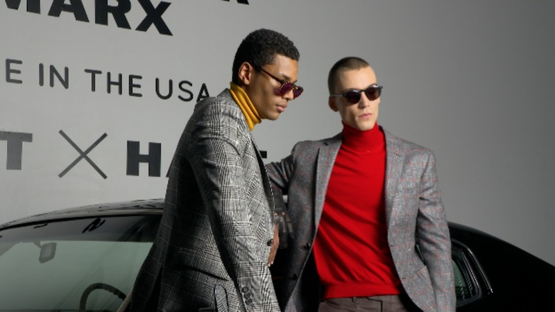 It's not just about the clothes at  NY Men's Fashion Week