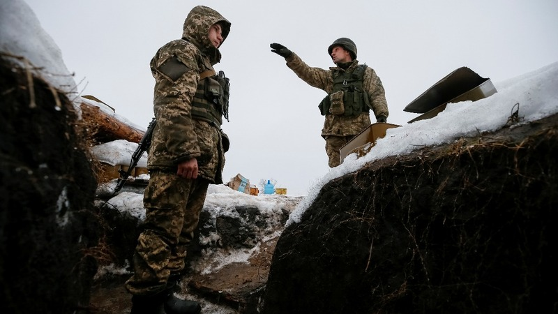 Civilian deaths lay on Russia - Ukrainian president
